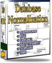 Database normalization ebook