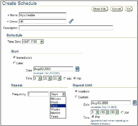 Oracle Scheduler  Putting Tasks In An Oracle Database On Auto Pilot