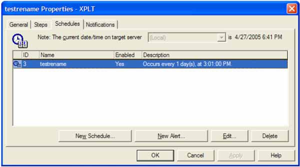 SQL Server jobs